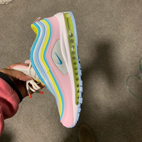 Womens Nike Air Max 97 Pink Blue And